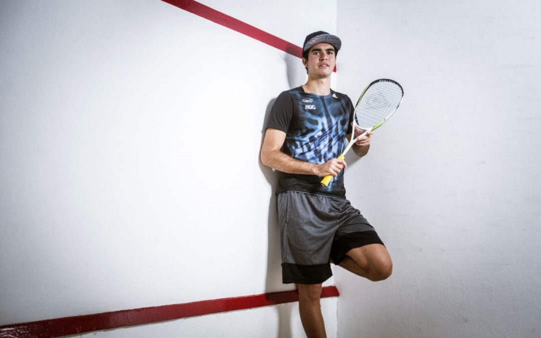 ÍCONOS: Diego Elías, presente y futuro del squash latinoamericano