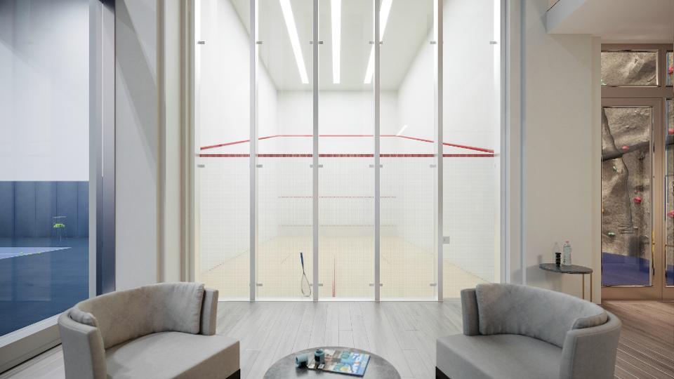 Las canchas de squash se han hecho imprescindibles en los edificios de Nueva York
