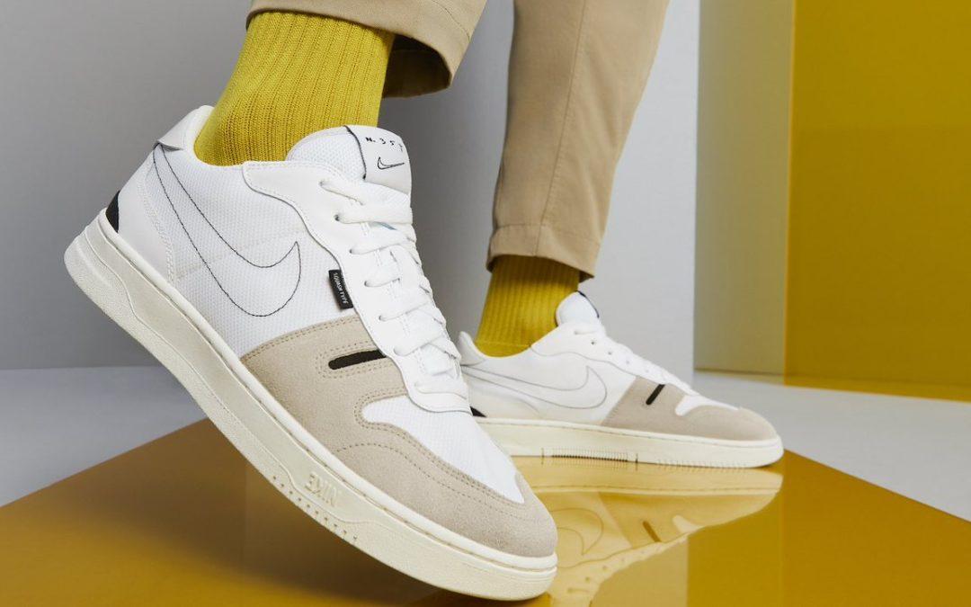 Nike relanza sus clásicos de squash de los 80's con un diseño lleno de elegancia