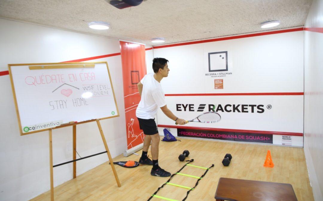 Así se reinventa el squash latinoamericano en tiempos de covid-19