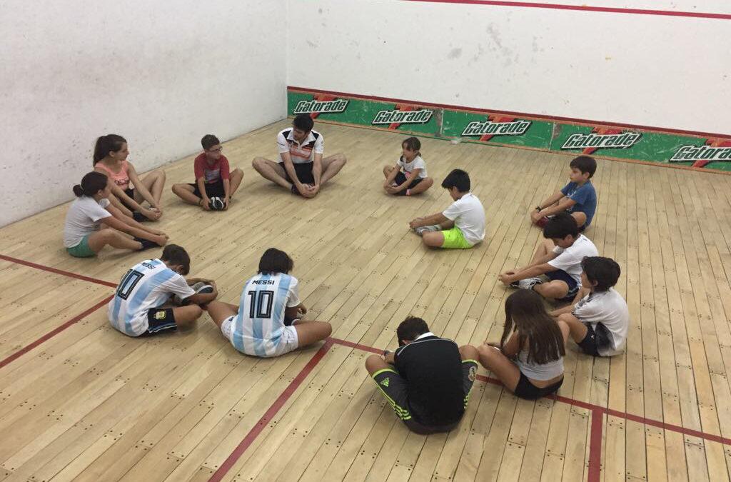 Beneficios del squash para los niños
